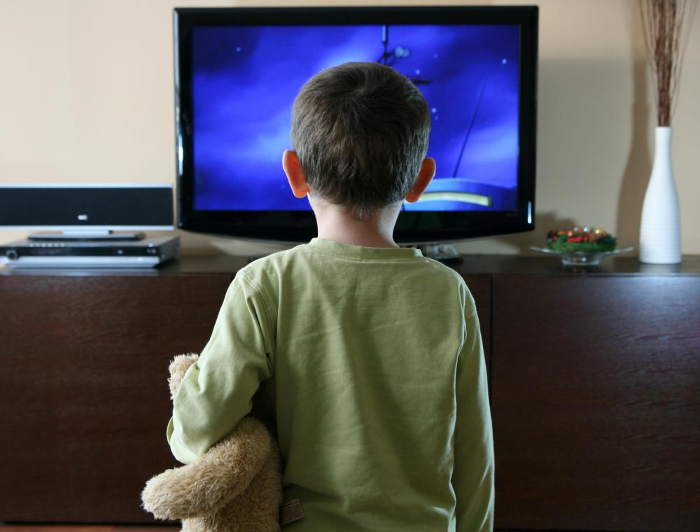 Absent parents may allow children to spend long periods of time watching TV while they complete other tasks.