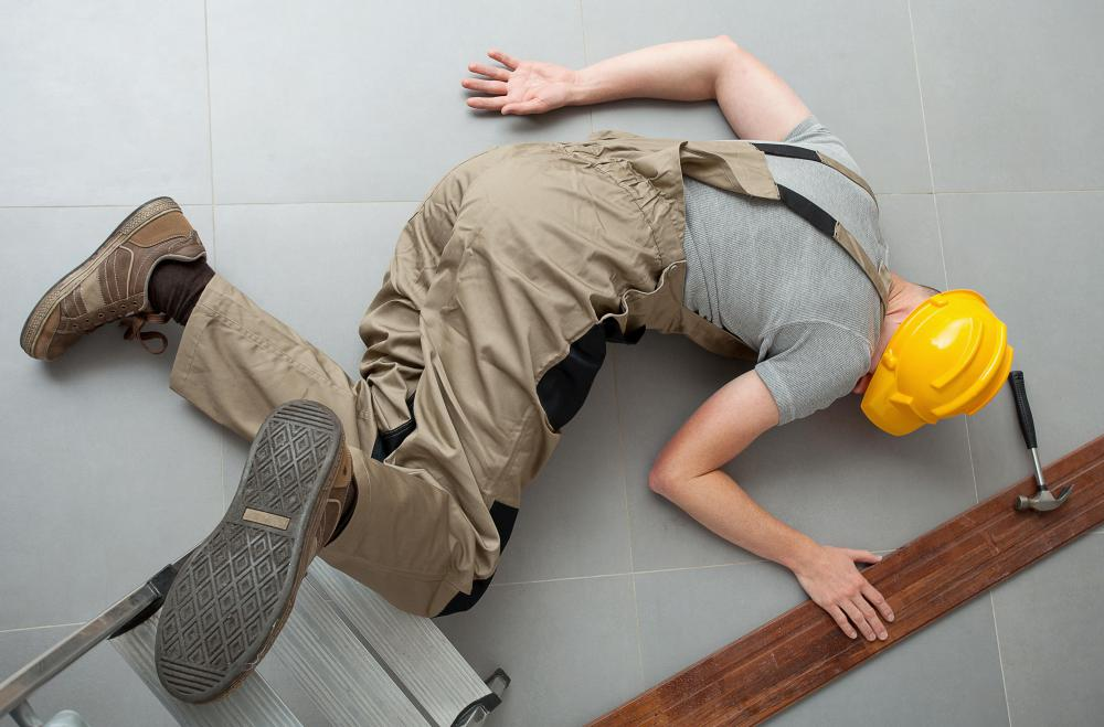 A permanent injury may occur as a result of a working accident.