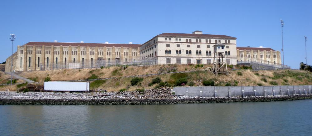 San Quentin State Prison in California.